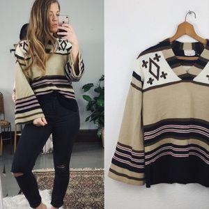 VINTAGE// Bell Sleeve Sweater